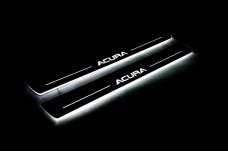 Led door sills Acura TL IV 2009-2014 (front doors) - (type STATIC)