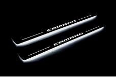 Led door sills Chevrolet Camaro V 2009-2015 - (type STATIC)