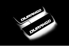 Led door sills Dodge Durango III 2011+ (rear doors) - (type STATIC)