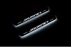 Led door sills Dodge Journey 2009+ (front doors) - (type STATIC)