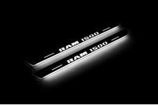 Led door sills Dodge Ram IV 2009-2018 (rear doors) - (type STATIC)