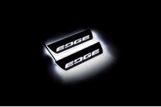 Led door sills Ford Edge II 2015+ (rear doors) - (type STATIC)