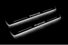 Led door sills Ford Focus II 2004-2011 (front doors) - (type STATIC)