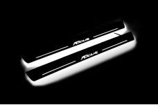Led door sills Ford Focus III 2011-2018 (front doors) - (type STATIC)