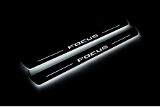 Led door sills Ford Focus IV 2018+ (front doors) - (type STATIC)