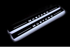 Led door sills Ford Mustang V 2005-2015 - (type STATIC)