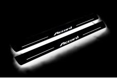 Led door sills Honda Accord IX 2013-2018 (front doors) - (type STATIC)