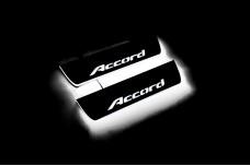 Led door sills Honda Accord IX 2013-2018 (rear doors) - (type STATIC)