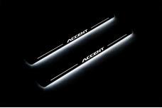 Led door sills Hyundai Accent 2011-2017 - (type STATIC)