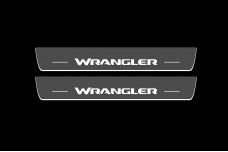Led door sills Jeep Wrangler JL 2018+ - (type STATIC)