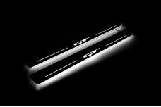 Led door sills KIA Ceed III 2018+ with logo GT (front doors) - (type STATIC)