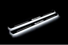 Led door sills Nissan Murano III 2014+ (front doors) - (type STATIC)