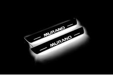 Led door sills Nissan Murano III 2014+ (rear doors) - (type STATIC)