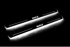Led door sills Subaru BRZ 2011+ - (type STATIC)