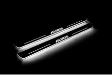 Led door sills Toyota Auris II 2013+ (front doors) - (type STATIC)