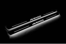 Led door sills Toyota Avensis III 2009+ - (type STATIC)