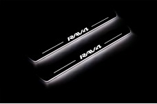 Led door sills Toyota Rav4 III 2005-2013 - (type STATIC)