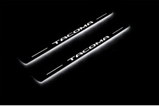 Led door sills Toyota Tacoma III 2016+ (front doors) - (type STATIC)