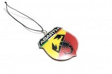 Car mirror pendant with logo Abarth