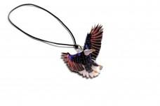 Car mirror pendant with logo American Eagle