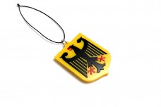 Car mirror pendant with logo Coat of arms of Germany