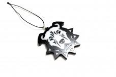 Car mirror pendant with logo Pitbull