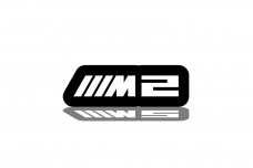 Led Badge for BMW M2 with logo ///M2 - (type RGB)
