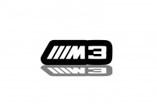 Led Badge for BMW M3 with logo ///M3 - (type RGB)