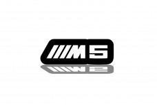 Led Badge for BMW M5 with logo ///M5 - (type RGB)