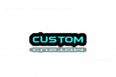 Custom led badge - (type STATIC)