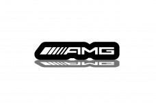 Led Badge for Mercedes with logo AMG - (type RGB)