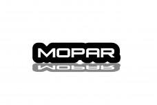 Led Badge with logo Mopar - (type RGB)
